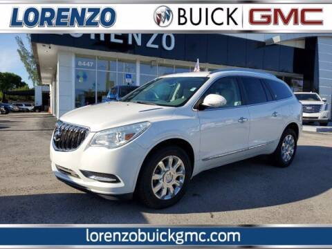 2017 Buick Enclave for sale at Lorenzo Buick GMC in Miami FL