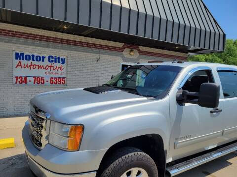 2014 GMC Sierra 2500HD for sale at Motor City Automotive of Michigan in Flat Rock MI