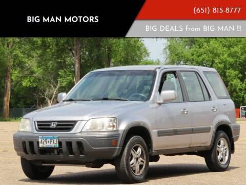 2001 Honda CR-V for sale at Big Man Motors in Farmington MN