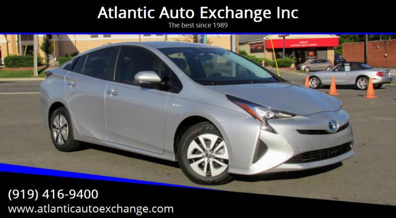 2016 Toyota Prius for sale at Atlantic Auto Exchange Inc in Durham NC