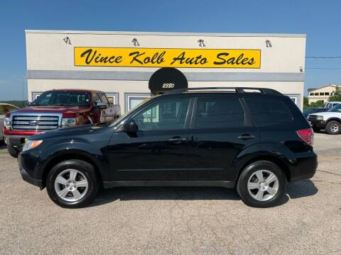 2012 Subaru Forester for sale at Vince Kolb Auto Sales in Lake Ozark MO