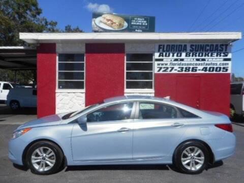 2013 Hyundai Sonata for sale at Florida Suncoast Auto Brokers in Palm Harbor FL