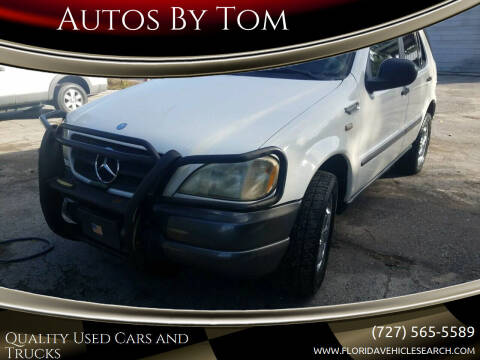 1998 Mercedes-Benz M-Class for sale at Autos by Tom in Largo FL