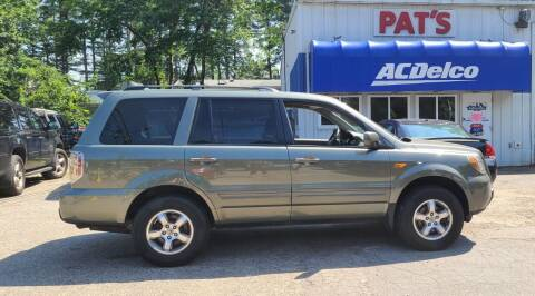 2008 Honda Pilot for sale at Route 107 Auto Sales LLC in Seabrook NH