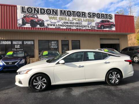 2019 Nissan Altima for sale at London Motor Sports, LLC in London KY