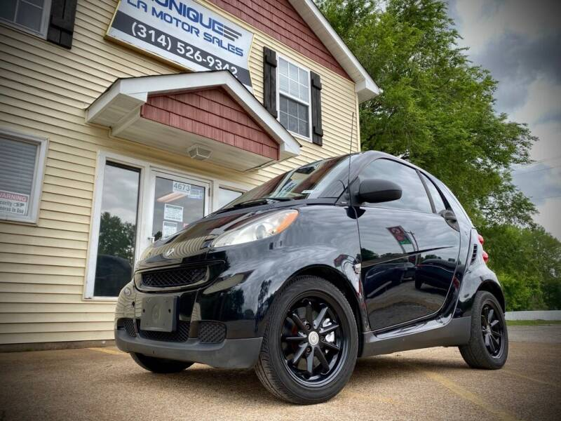 2009 Smart fortwo for sale at Unique LA Motor Sales LLC in Byrnes Mill MO