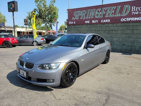 2009 BMW 3 Series for sale at SPRINGFIELD BROTHERS LLC in Fullerton CA