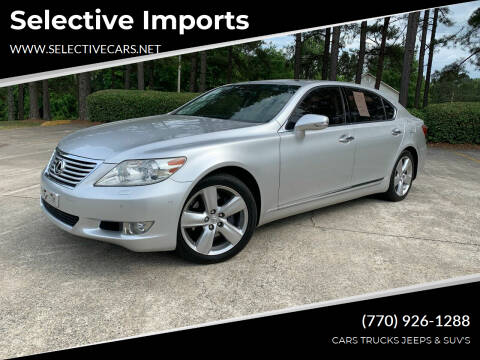 2010 Lexus LS 460 for sale at Selective Imports in Woodstock GA