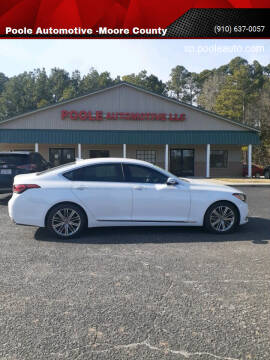 2018 Genesis G80 for sale at Poole Automotive -Moore County in Aberdeen NC