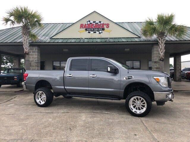 2019 Nissan Titan XD for sale at Rabeaux's Auto Sales in Lafayette LA