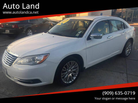 2011 Chrysler 200 for sale at Auto Land in Ontario CA