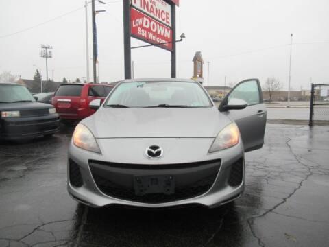 2013 Mazda MAZDA3 for sale at Bi-Rite Auto Sales in Clinton Township MI