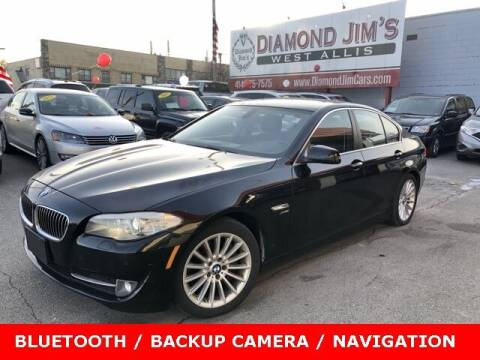 2012 BMW 5 Series for sale at Diamond Jim's West Allis in West Allis WI