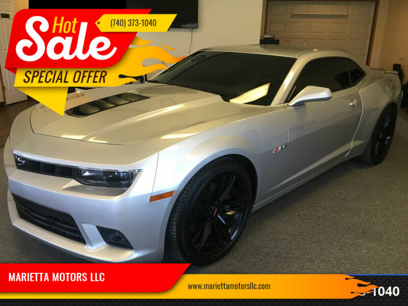2014 Chevrolet Camaro for sale at MARIETTA MOTORS LLC in Marietta OH