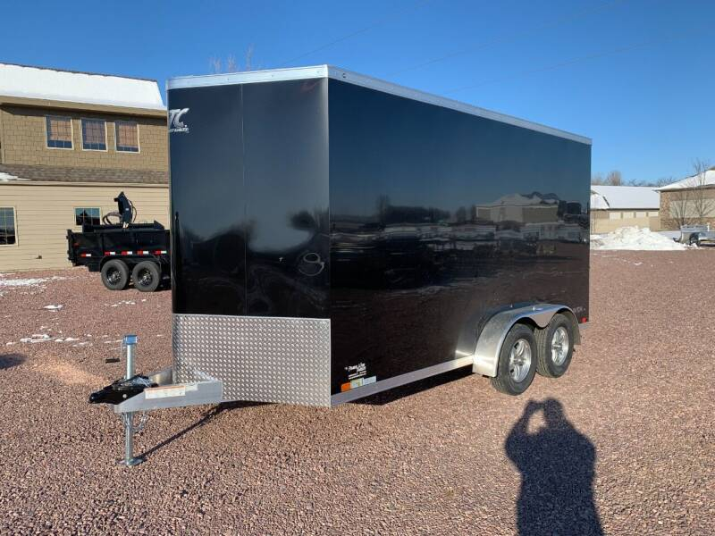 2021 ATC RAVEN 7x14x7 V-Nose #1352 for sale at Prairie Wind Trailers, LLC in Harrisburg SD