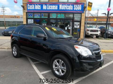 2015 Chevrolet Equinox for sale at West Oak in Chicago IL