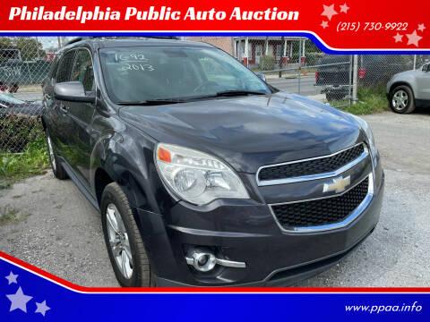 2013 Chevrolet Equinox for sale at Philadelphia Public Auto Auction in Philadelphia PA
