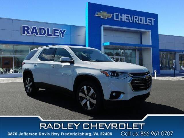 2021 Chevrolet Traverse for sale in Fredericksburg, VA