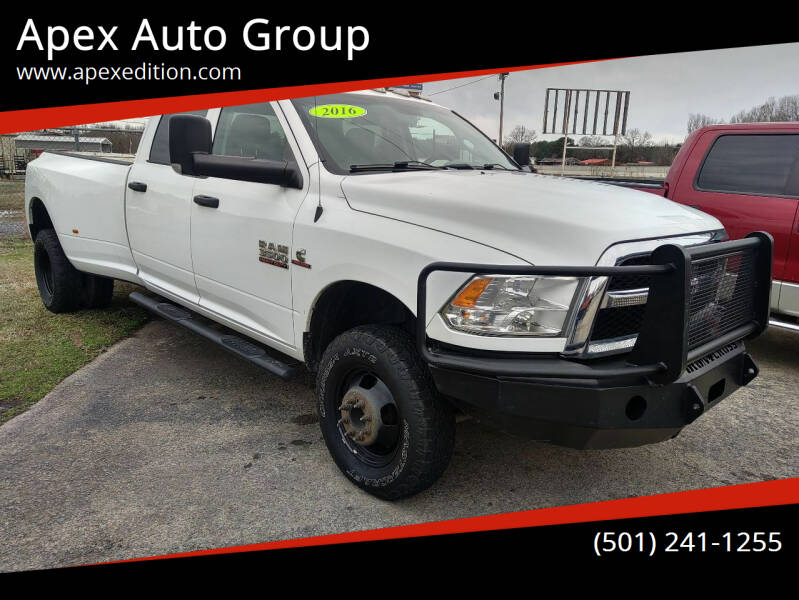 2016 RAM Ram Pickup 3500 for sale at Apex Auto Group in Cabot AR