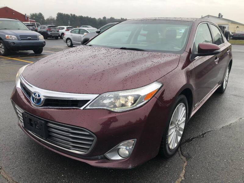 2013 Toyota Avalon Hybrid for sale at USA Auto Sales in Kensington CT