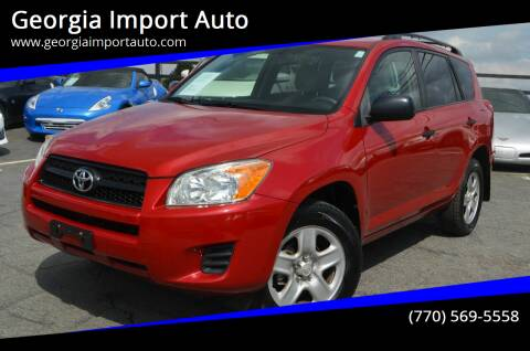 2009 Toyota RAV4 for sale at Georgia Import Auto in Alpharetta GA
