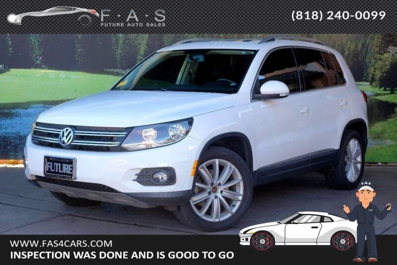 2013 Volkswagen Tiguan for sale at Best Car Buy in Glendale CA