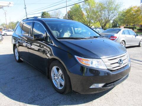 2013 Honda Odyssey for sale at St. Mary Auto Sales in Hilliard OH