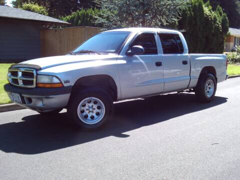 2001 Dodge Dakota for sale at Redline Auto Sales in Vancouver WA