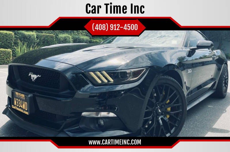 2017 Ford Mustang for sale at Car Time Inc in San Jose CA