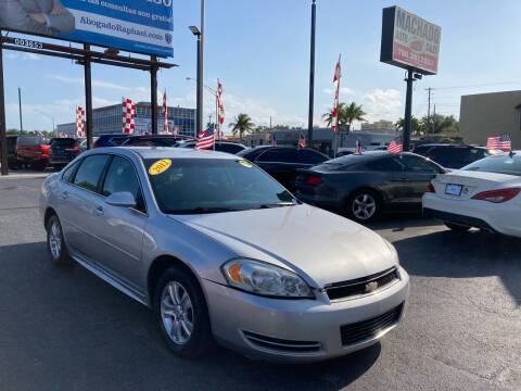 2012 Chevrolet Impala for sale at MACHADO AUTO SALES in Miami FL