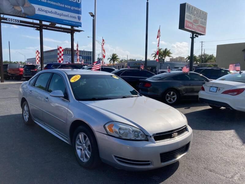 2012 Chevrolet Impala for sale at MACHADO AUTO SALES in Miami FL