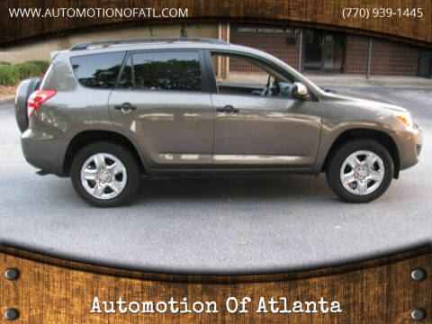 2009 Toyota RAV4 for sale at Automotion Of Atlanta in Conyers GA