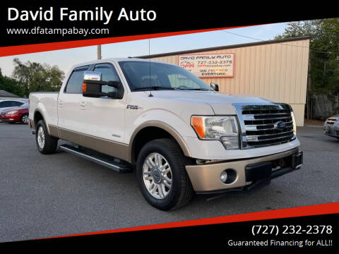 2013 Ford F-150 for sale at David Family Auto in New Port Richey FL