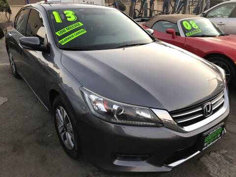 2013 Honda Accord for sale at CAR GENERATION CENTER, INC. in Los Angeles CA