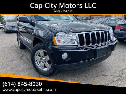 2006 Jeep Grand Cherokee for sale at Cap City Motors LLC in Columbus OH