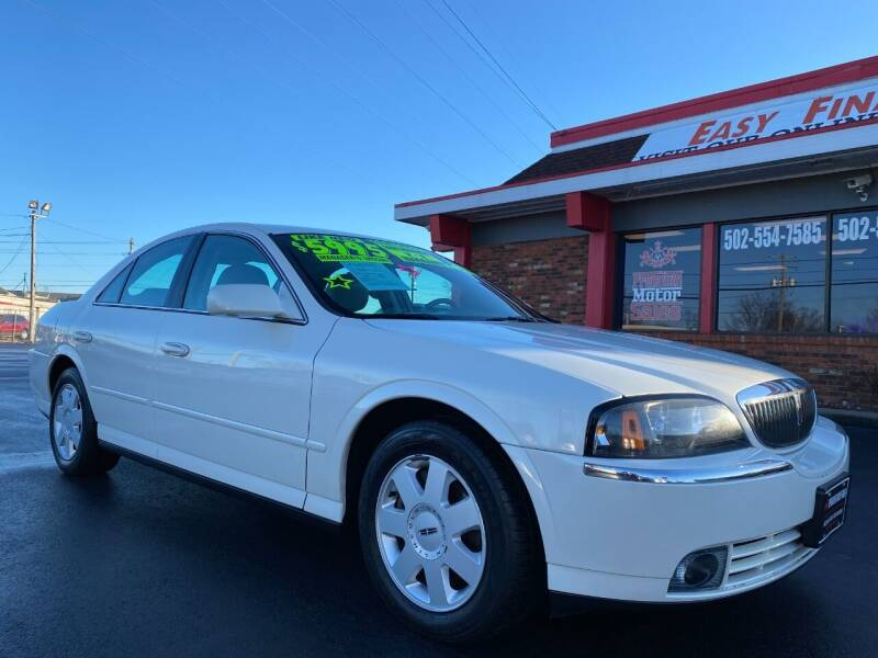 2005 Lincoln LS for sale at Premium Motors in Louisville KY