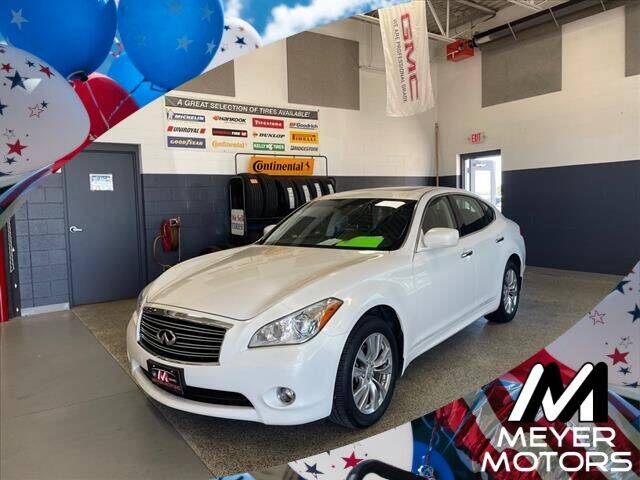 2013 Infiniti M37 for sale at Meyer Motors in Plymouth WI