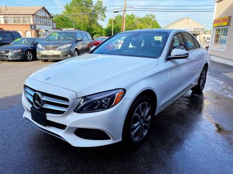 2016 Mercedes-Benz C-Class for sale at Dijie Auto Sale and Service Co. in Johnston RI