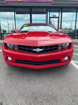 2013 Chevrolet Camaro for sale at Greenville Motor Company in Greenville NC