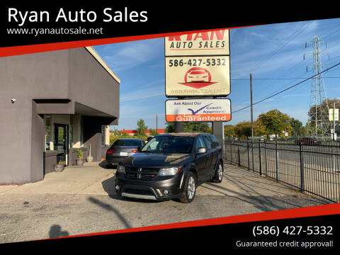 2014 Dodge Journey for sale at Ryan Auto Sales in Warren MI