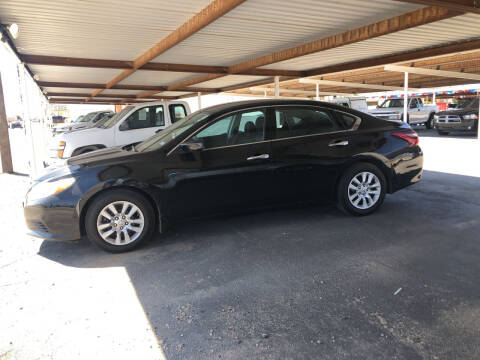 2018 Nissan Altima for sale at Kann Enterprises Inc. in Lovington NM