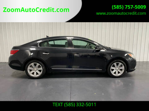 2011 Buick LaCrosse for sale at ZoomAutoCredit.com in Elba NY