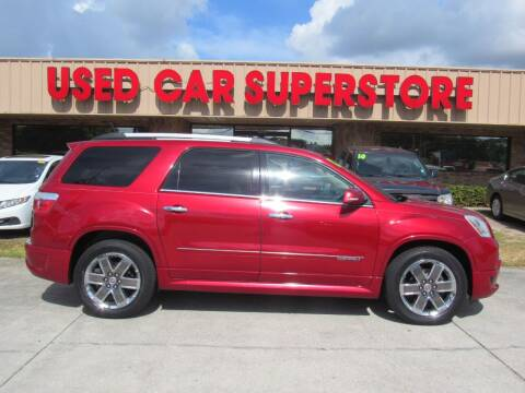 2012 GMC Acadia for sale at Checkered Flag Auto Sales NORTH in Lakeland FL