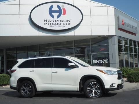 2016 Toyota Highlander for sale at Harrison Imports in Sandy UT