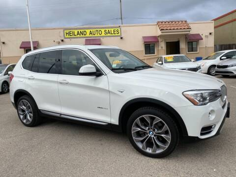 2015 BMW X3 for sale at HEILAND AUTO SALES in Oceano CA