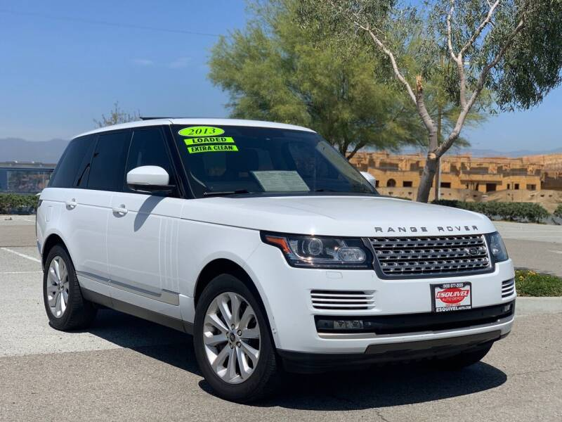2013 Land Rover Range Rover for sale at Esquivel Auto Depot in Rialto CA