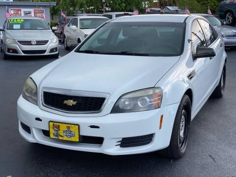 2013 Chevrolet Caprice for sale at KD's Auto Sales in Pompano Beach FL