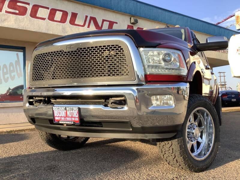 2013 RAM Ram Pickup 2500 for sale at Discount Motors in Pueblo CO