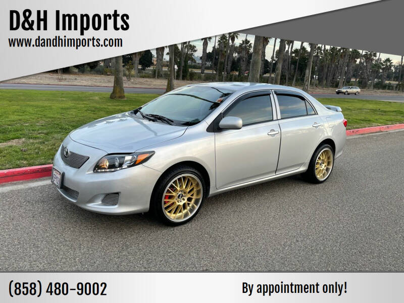 2009 Toyota Corolla for sale at D&H Imports in San Diego CA