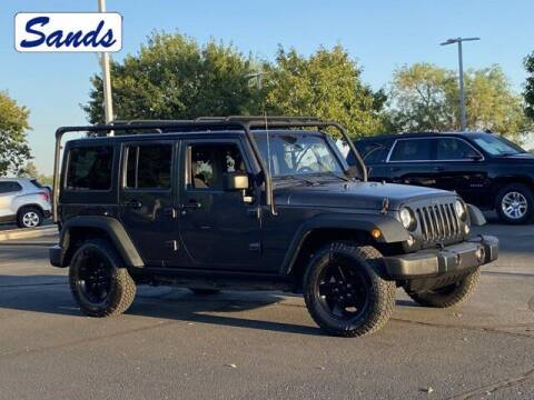 2017 Jeep Wrangler Unlimited for sale at Sands Chevrolet in Surprise AZ